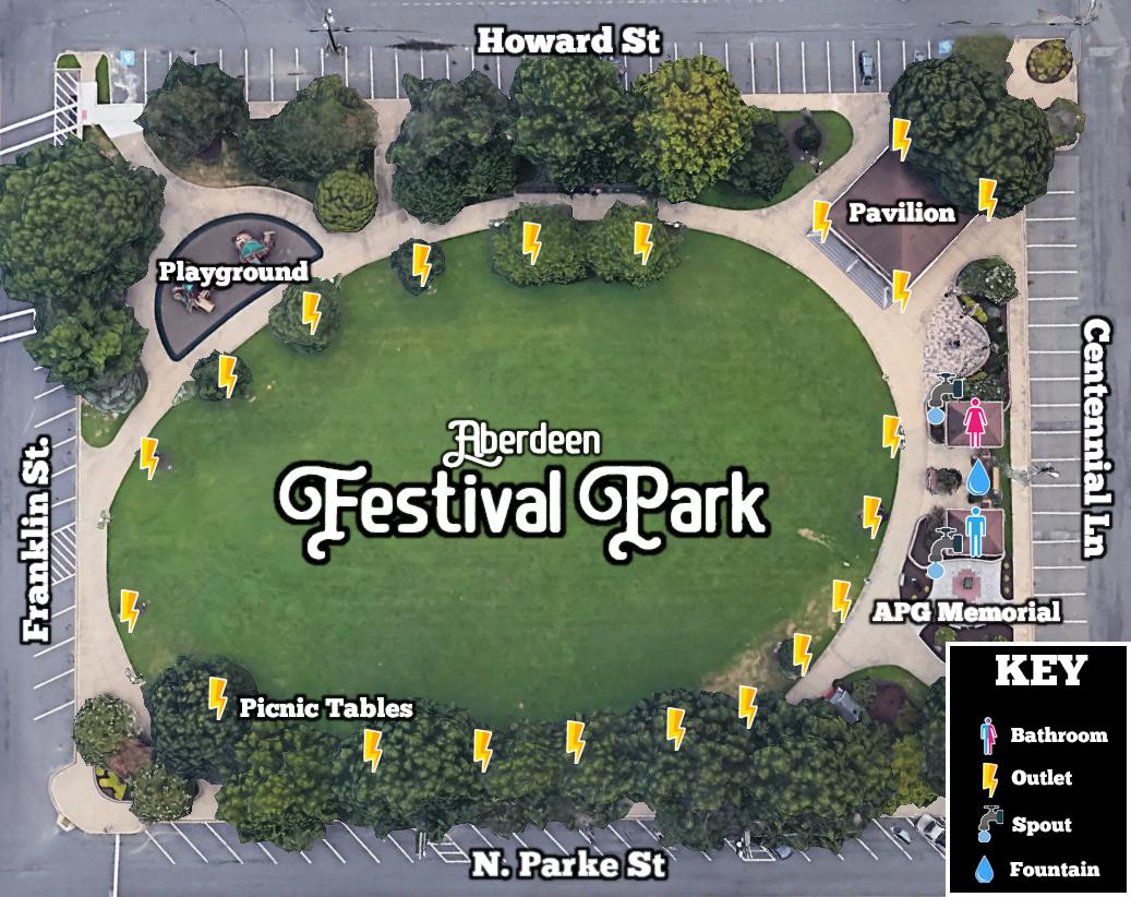 Aberdeen Festival Park Map